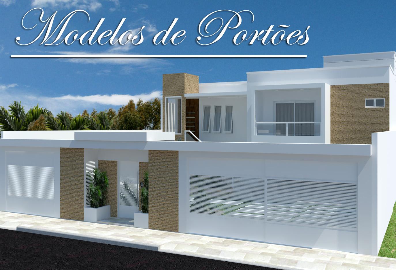 Fachadas de casas bonitas modelos ideias e produtos - Modelos de casas modernas ...