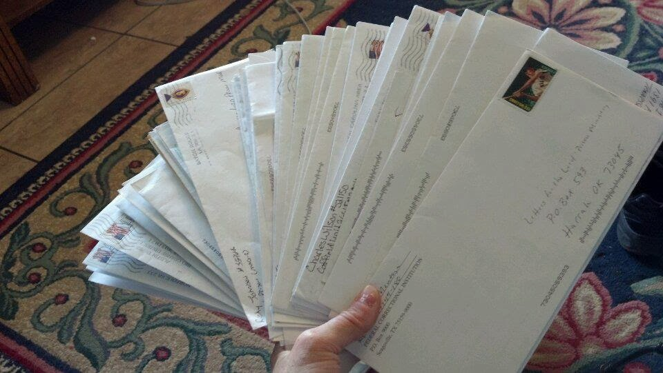 envelopes of hope