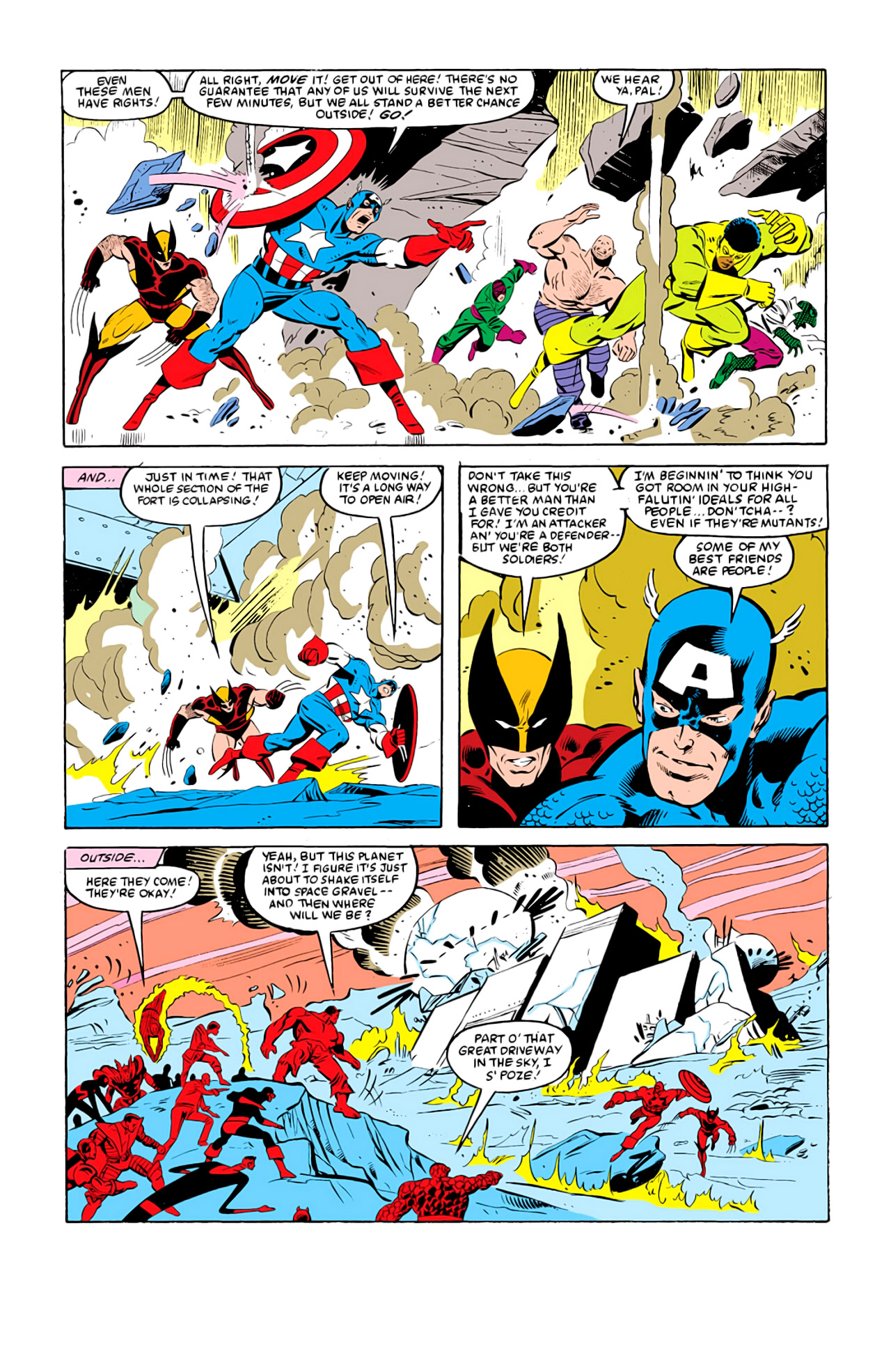 Captain America (1968) Issue #292k #218 - English 24