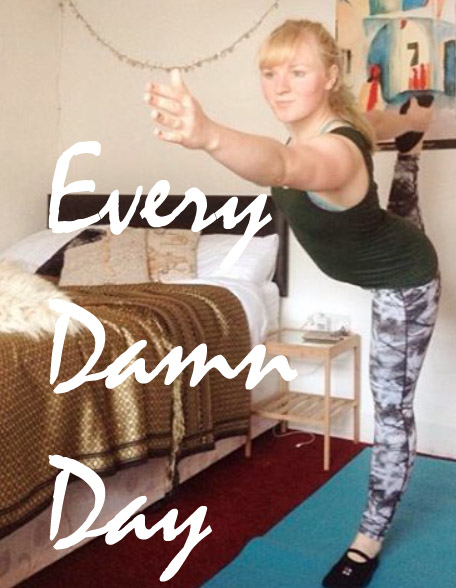 100 days of yoga challenge, set by @eleanormay_c. Follow me on instagram to join in the challenge!