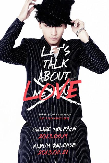 seungri let's talk about love 1st teaser