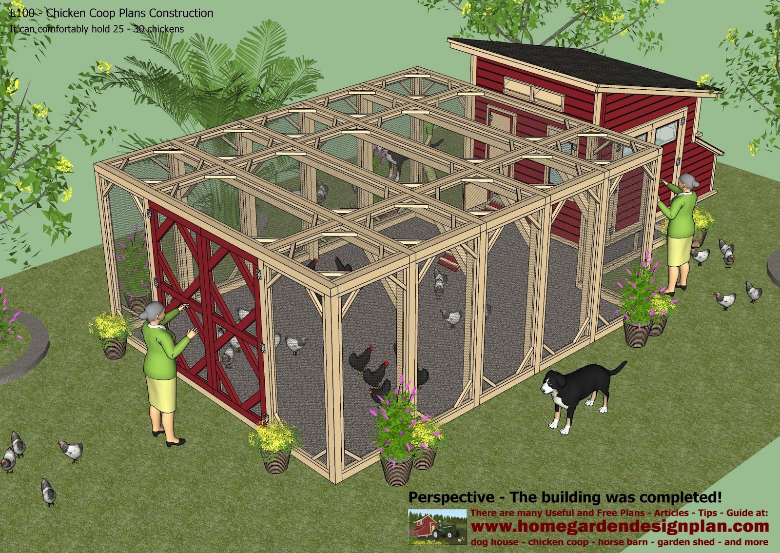 Yam coop build a chicken coop details for How to design a chicken coop
