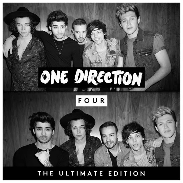 one direction, 1d, four, cover, copertina, the ultimate edition,harry styles, liam payne, louis tomlinson, niall horan, zayn malik