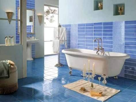 Modernos dise os de azulejos de ba o ba os y muebles for Disenos de azulejos para banos