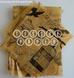 Turn Tissue Paper & Napkins Into Scrapbook Paper