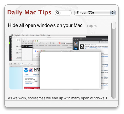 Daily Mac Tips