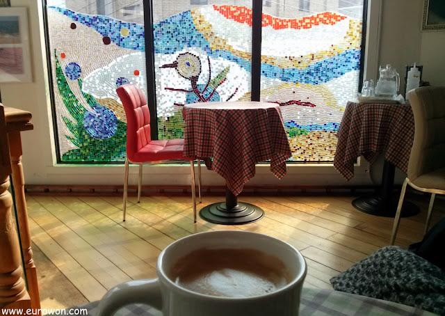 Cafetería de Daegu en Corea del Sur