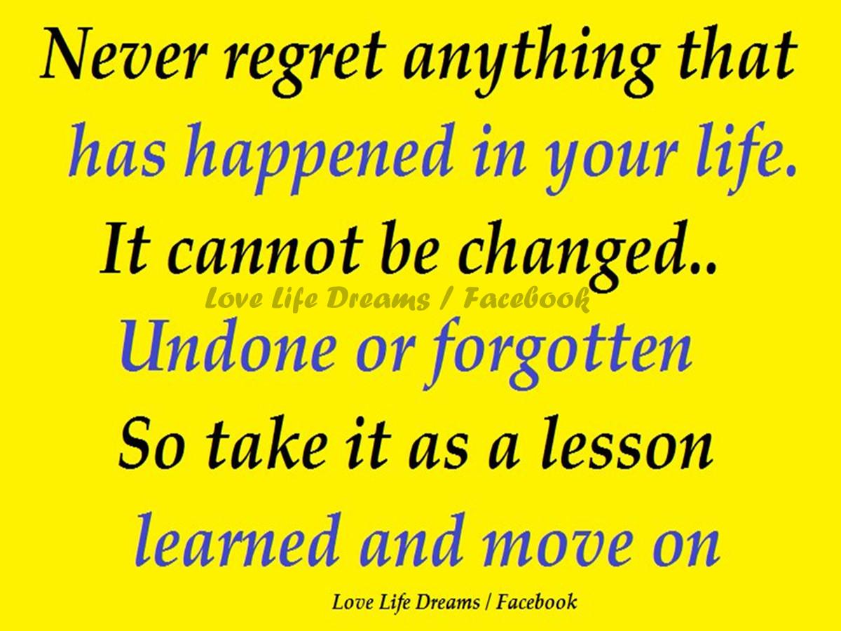 Regret Love Quotes. QuotesGram