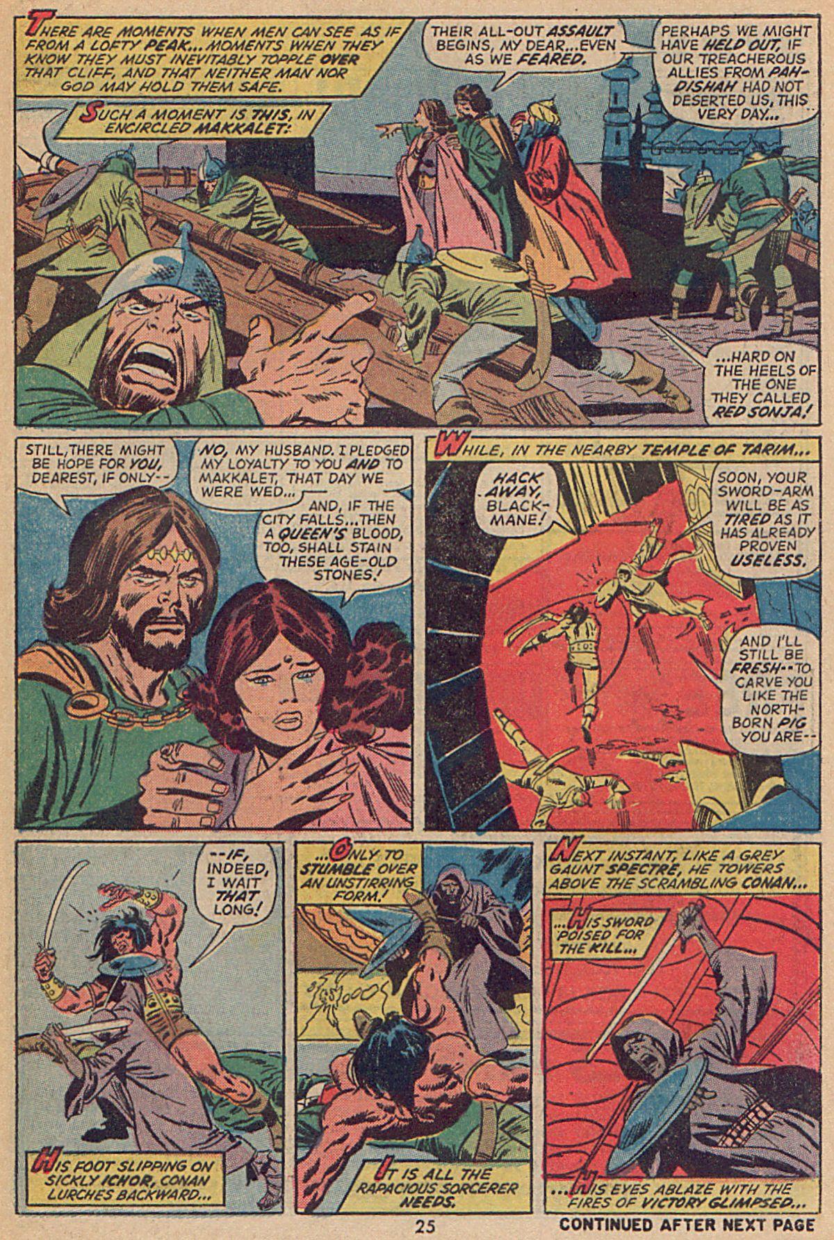 Conan the Barbarian (1970) Issue #25 #37 - English 19