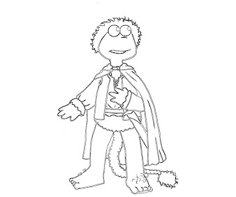 #2 The Muppets Coloring Page