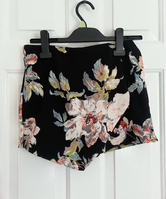 New look floral skort co-ord