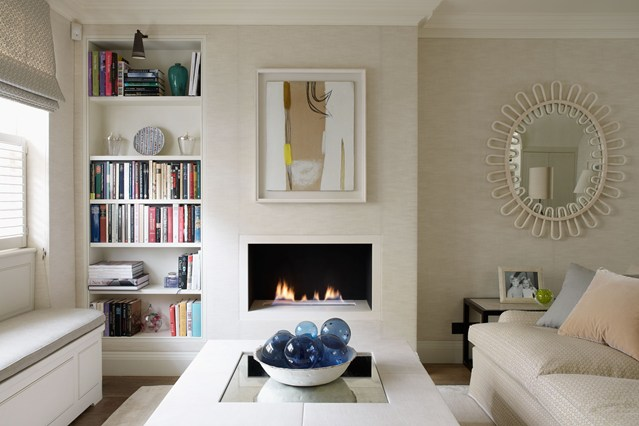 Muebles y decoraci n de interiores salas de estar apropiadas para casas peque as - Muebles casas pequenas ...