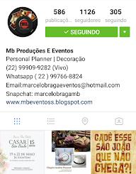 Instagram MB Produções e Eventos