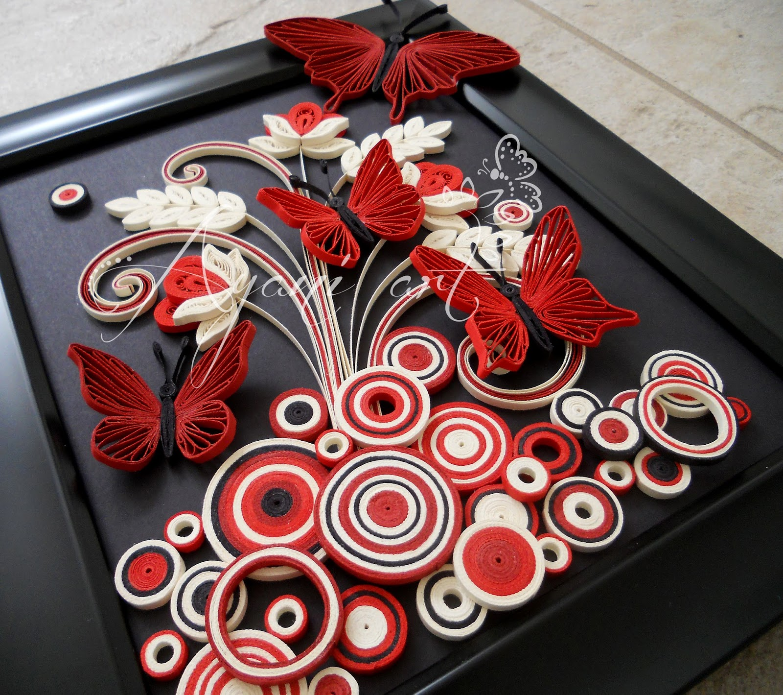 Ayani art: Quilling Bubbles Tutorial
