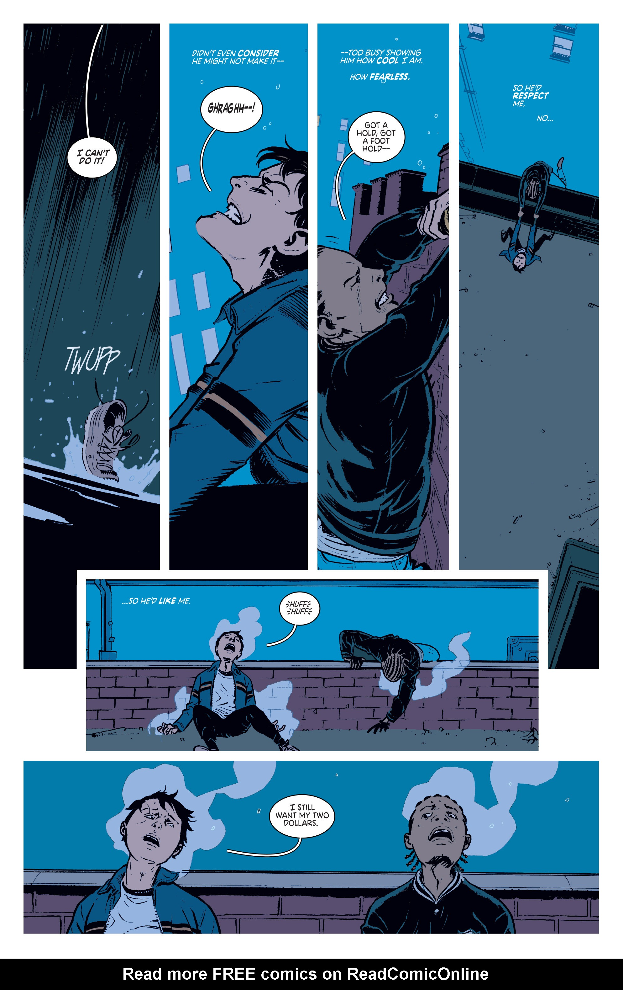 Read online Deadly Class comic -  Issue #3 - 6