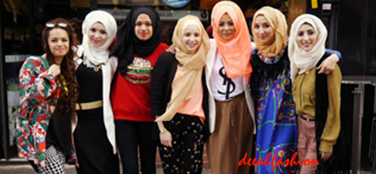 Gaya Hijabers On The Street (Part 1)