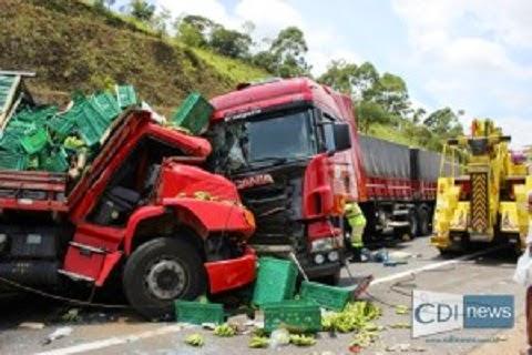 Acidente em Carandaí Minas Gerais