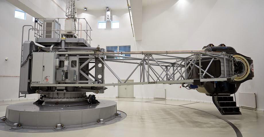 Polish human centrifuge. Credit: ESA–Kjetil Wormnes