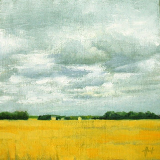 Wheatfields II by Liza Hirst