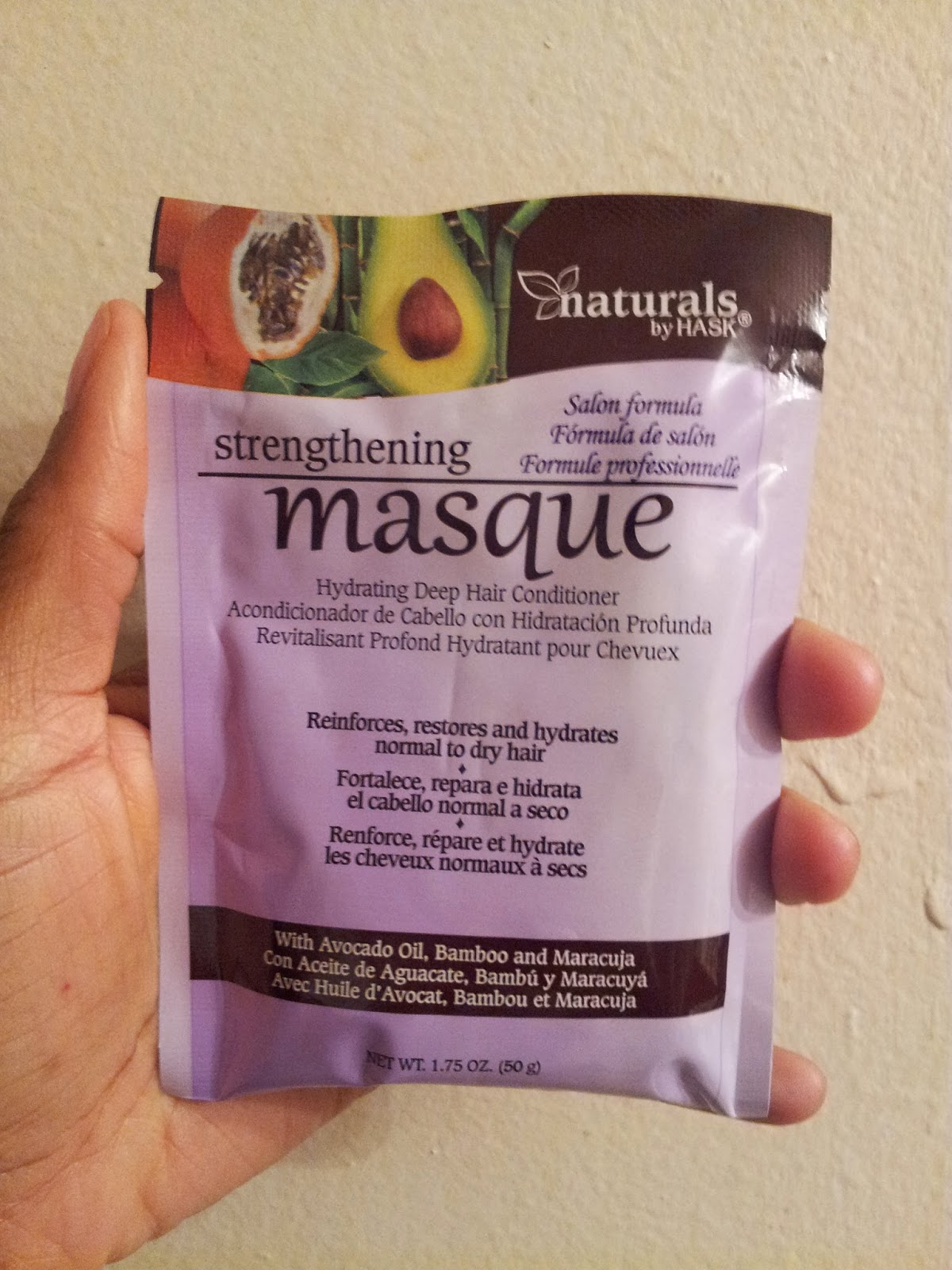 Naturals By Hask Strengthening Masque Reviews