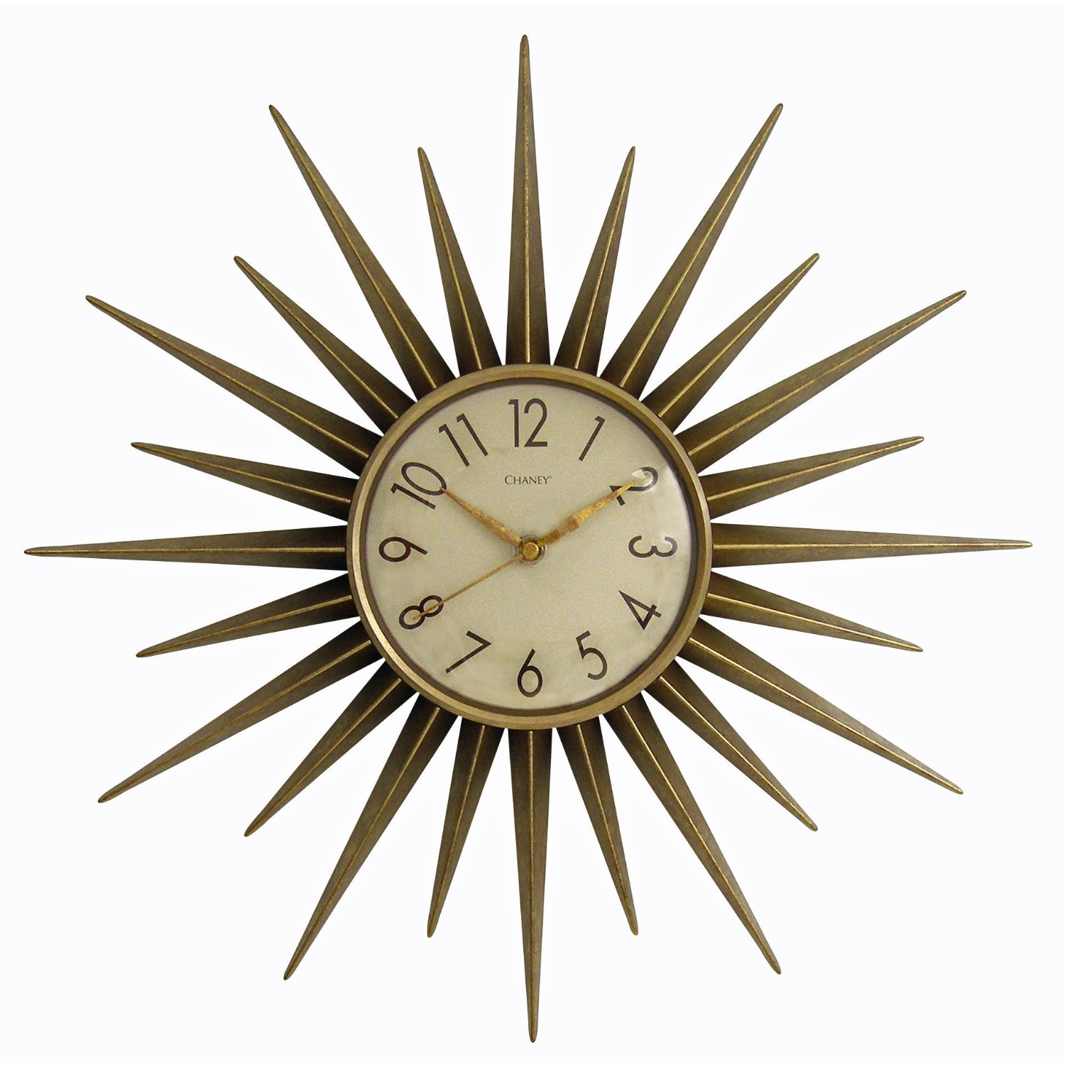 Retro girls guide december 2011 vintage inspired wall clock if you are looking to turn back the hands of time why not look up on your wall that is this starburst wall clock by chaney amipublicfo Choice Image