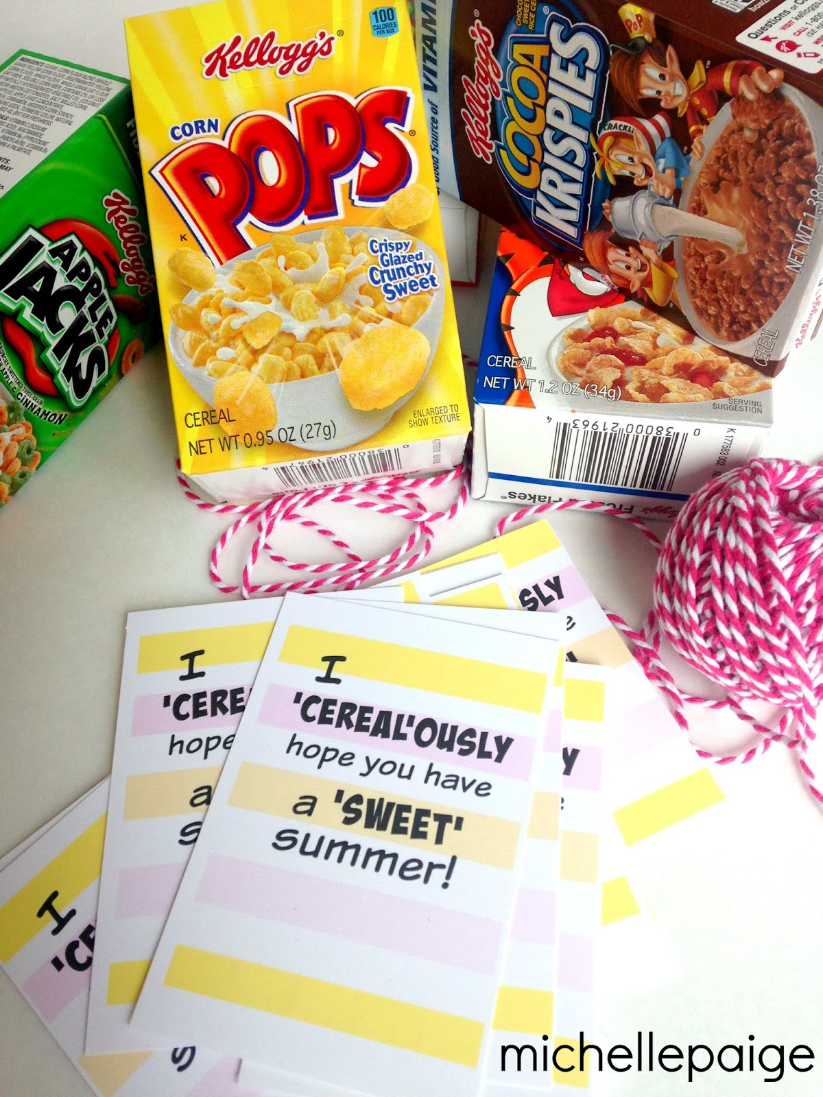 Michelle Paige Blogs Cerealously Hope You Have A Sweet
