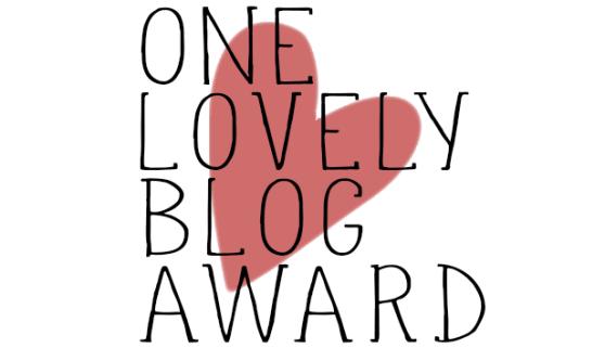 Tag Only Lovely Blog Award.