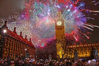 Gambar Kembang Api Tahun Baru 2016 London Fireworks Happy New Year HD Wallpaper
