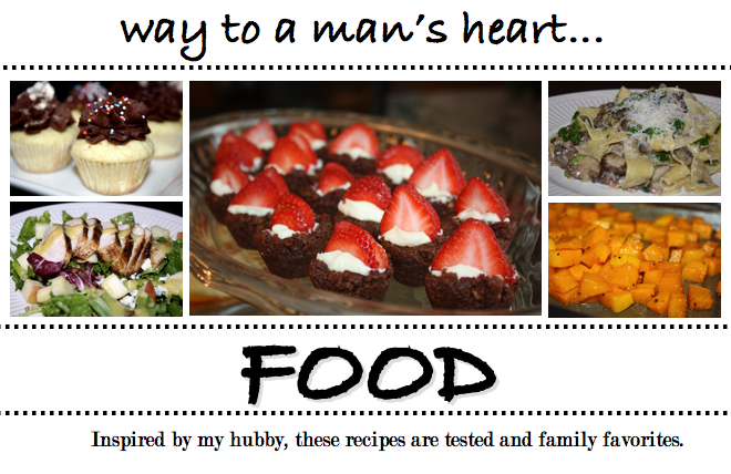 Way To A Man's Heart...Food