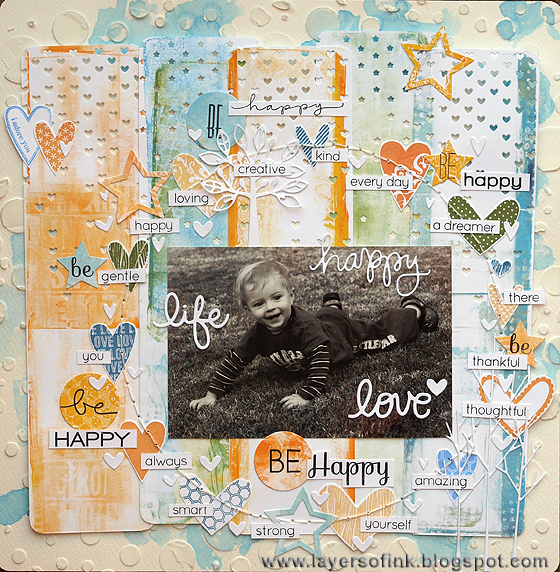 http://layersofink.blogspot.com/2013/09/be-happy-layout.html