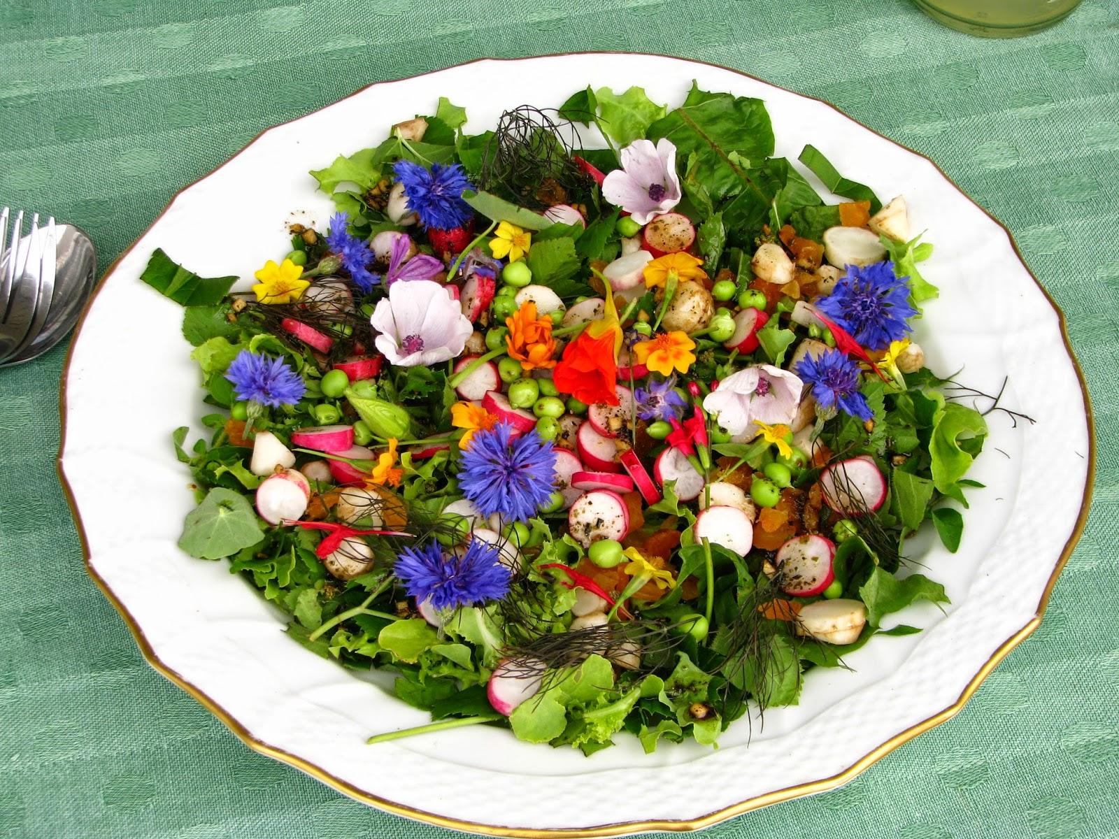 Tang Mad Fra Hav: Når en spiselige blomster nørd mødes med en ...