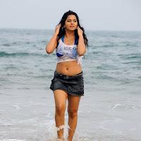 Rachana hot wet at beach
