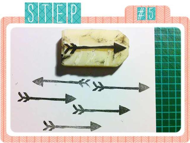 DIY | Stempel selber schnitzen | Probestempeln | www.danipeuss.de