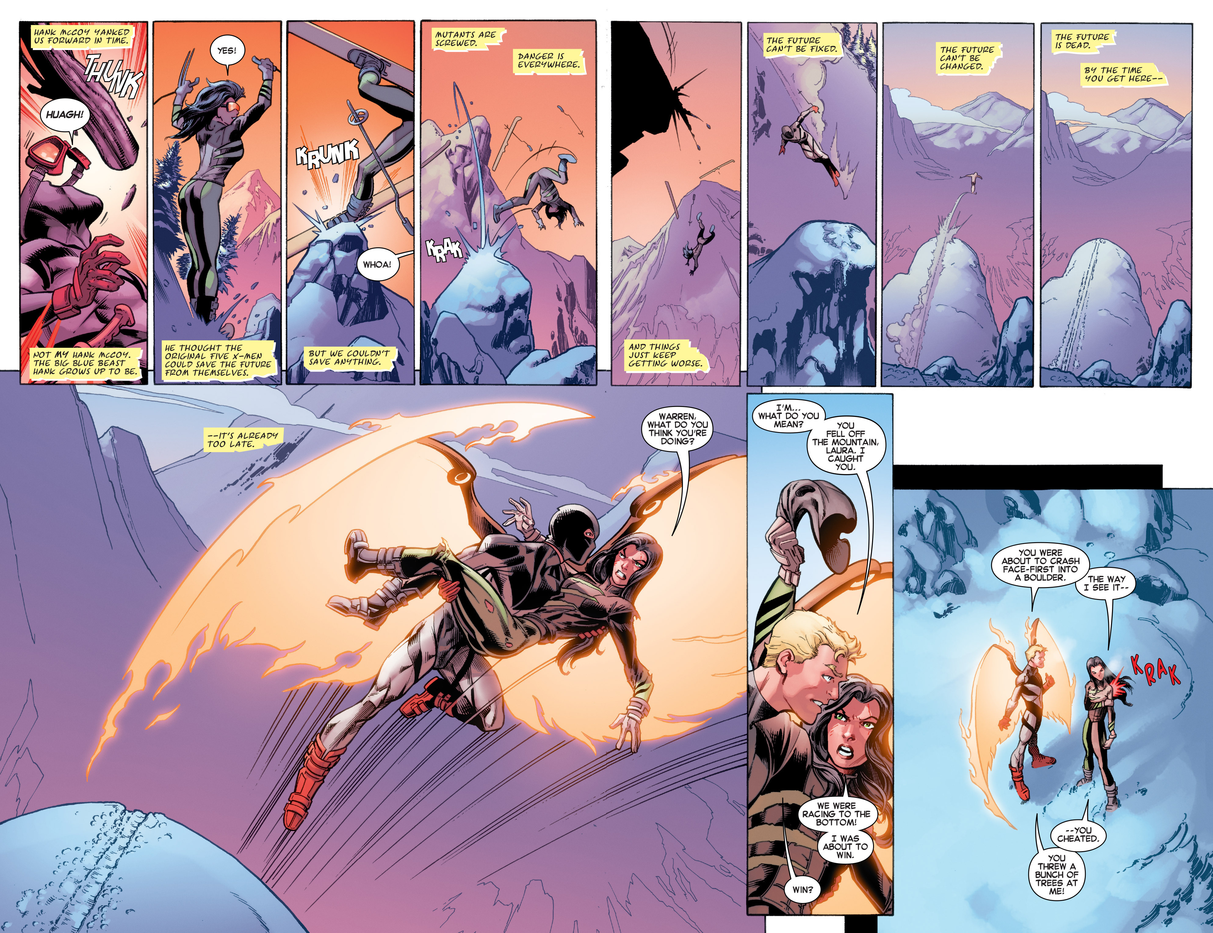 All-New X-Men (2016) Issue #1 #2 - English 4