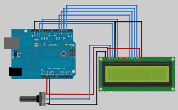Uso de pantallas lcd con arduino atomo technologies