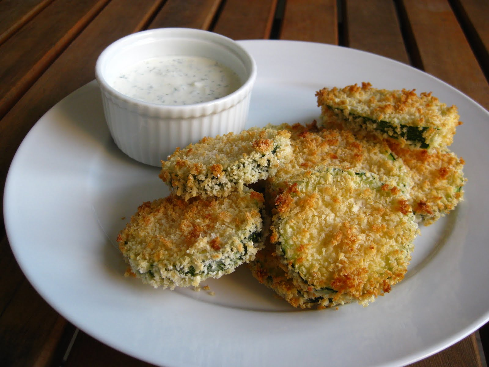 ... Taste of Home Cooking: Crunchy Baked Zucchini with Garlic-Lemon Aioli