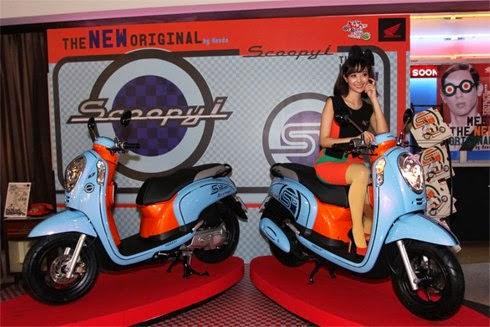 Daftar Harga Honda Scoopy PGM F1 Terbaru 2015