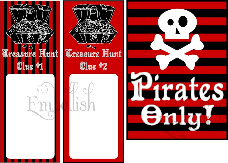 Terrible image intended for pirate party printable