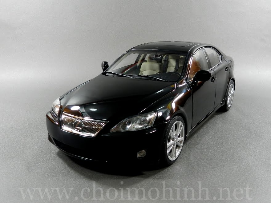 Lexus IS 350 2006 1:18 AUTOart black