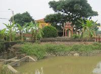 Ngôi mộ tổ họ Nguyễn làng Kim Đôi
