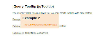 14. jQuery Tooltip Plugin