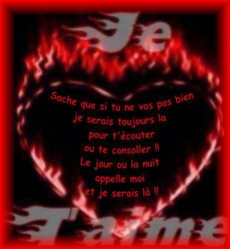 Photos et images d 39 amour po mes et textes d 39 amour 2018 - Lettre saint valentin pour son cheri ...