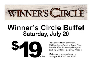 Buffet Set For Saturday July 20th