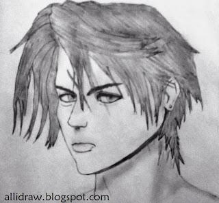 Squall Leonhart Sketch 2