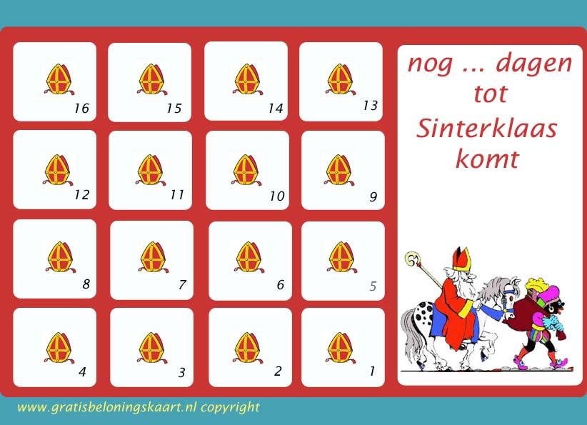 Landelijke Kinderopvang Aftelkalenders