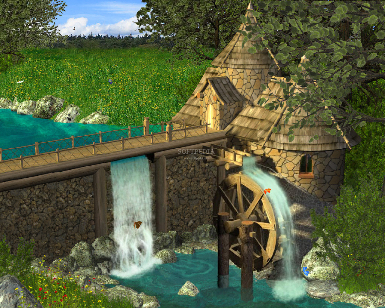 Animated Waterfall Wallpaper 744713