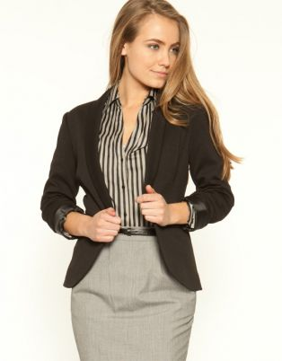 If business casual attire is allowed in this kind of work environment it is the most formal of all business casual dress codes and it consists of the following items: A. Blazer or Sport Coat The blazer is an essential part of a business casual wardrobe.