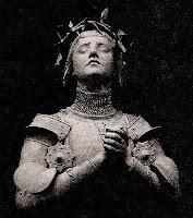 Juana de Arco (escultura de Antonin Mercié, 1906)