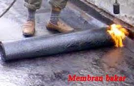 membran bakar untuk kebocoran