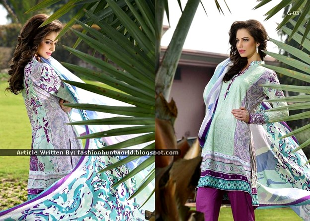 Gohar Lawn Collection 2015-2016 - 013